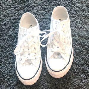 White Mesh Converse